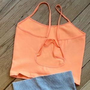 Free People Tops - NWOT Free People Tighten up strappy back tank.